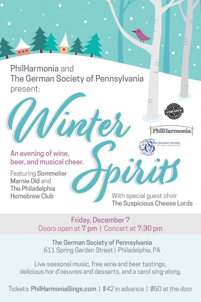 Winter Spirits - The German Society of Pennsylvania